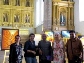 With curator Lina Vincent, Artist Vamona, Jugneeta Sudan and Marius Fernandes