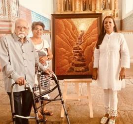 With Shaistha Thapar