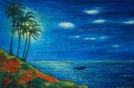 Moonlight Fishing (Vagator)